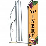 Winery Grapes Swooper Flag Bundle