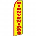 Bienvenidos(Welcome) Extra Wide Swooper Flag