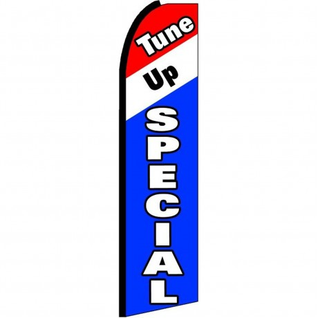 Tune Up Special Extra Wide Swooper Flag