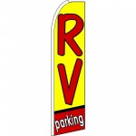 RV Parking Extra Wide Swooper Flag