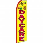 Day Care Yellow Toys Extra Wide Swooper Flag