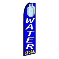 Water Store Extra Wide Swooper Flag