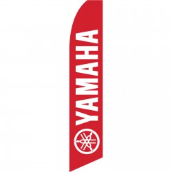 Yamaha Red Swooper Flag