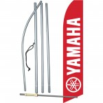 Yamaha Red Swooper Flag Bundle