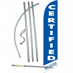 Certified Pre-Owned Blue Windless Swooper Flag Bundle
