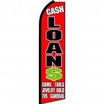 Cash Loans Extra Wide Swooper Flag