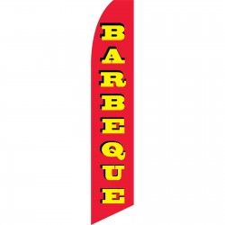 Barbeque Red Swooper Flag