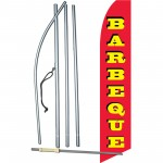 Barbeque Red Swooper Flag Bundle