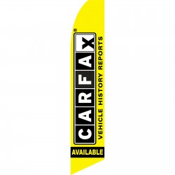 CARFAX Swooper Flag