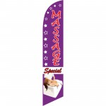 Massage Special Windless Swooper Flag