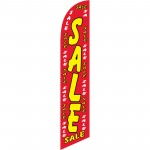 Sale Red Dollars Windless Swooper Flag
