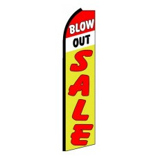Blow Out Sale Extra Wide Swooper Flag