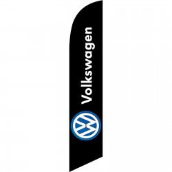 Volkswagen Black Windless Swooper Flag