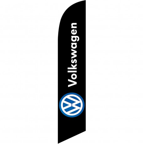 Volkswagen Black Windless Swooper Flag