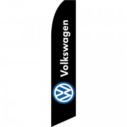Volkswagen Black Swooper Flag