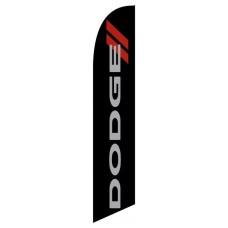 Dodge Black Windless Swooper Flag