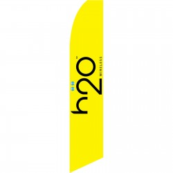 H2O Wireless Yellow Swooper Flag