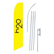 H2O Wireless Yellow Swooper Flag Bundle