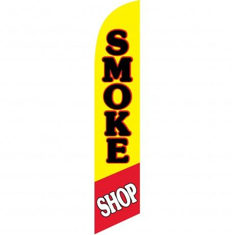 Smoke Shop Windless Swooper Flag