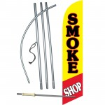 Smoke Shop Windless Swooper Flag Bundle