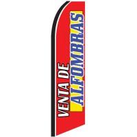 Venta De Alfombras (We Sell Carpet) Extra Wide Swooper Flag