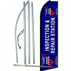 Inspection & Repair Station Extra Wide Swooper Flag Bundle