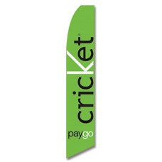Cricket Green PayGo Swooper Flag