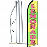 Lemonade Extra Wide Swooper Flag Bundle