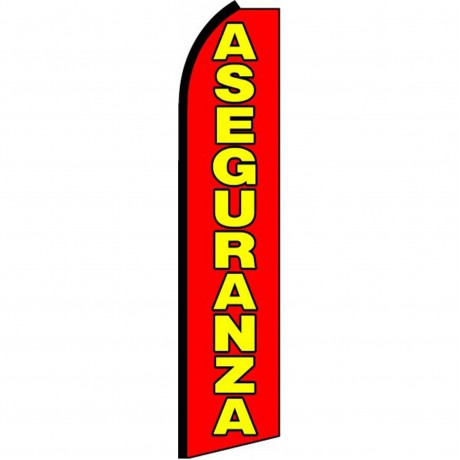 Aseguranza Extra Wide Swooper Flag
