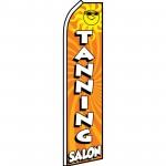 Tanning Salon with Sun Swooper Flag