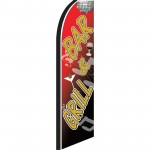 Bar & Grill Extra Wide Swooper Flag