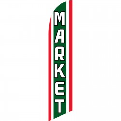 Market Windless Swooper Flag