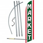 Market Windless Swooper Flag Bundle