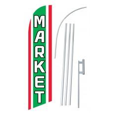 Market Windless Swooper Flag Bundle