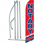 Notary Public Swooper Flag Bundle
