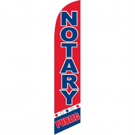 Notary Public Windless Swooper Flag