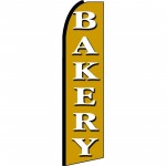 Bakery Gold Extra Wide Swooper Flag
