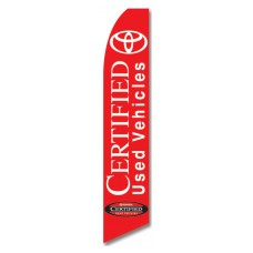 Toyota Certified Used Vehicles Swooper Flag