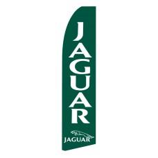 Jaguar Green Swooper Flag