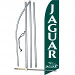 Jaguar Green Swooper Flag Bundle