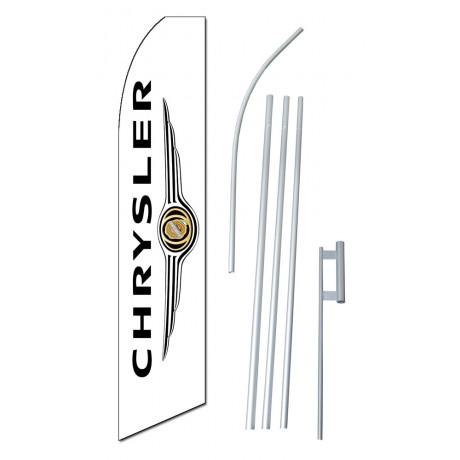 Chrysler Wings Vertical Swooper Flag Bundle