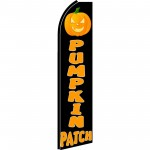 Pumpkin Patch Extra Wide Swooper Flag