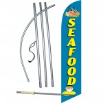 Seafood Windless Swooper Flag Bundle