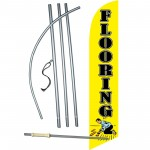 Flooring Yellow Windless Swooper Flag Bundle