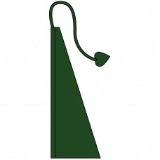 New 13' Windtail Attention Flags Shamrock Green