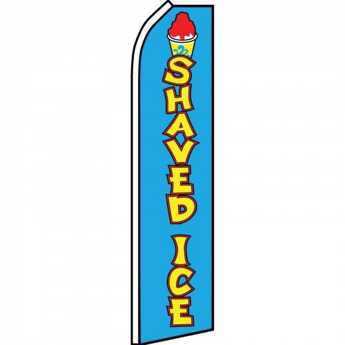 Shaved Ice Blue Swooper Flag Bundle