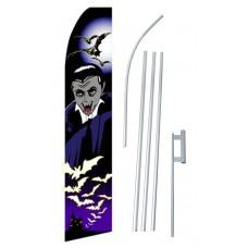 Halloween Vampire Purple Swooper Flag Bundle
