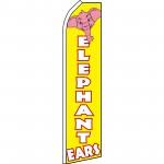 Elephant Ears Yellow Swooper Flag
