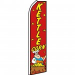 Kettle Corn Red Swooper Flag