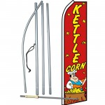 Kettle Corn Red Swooper Flag Bundle